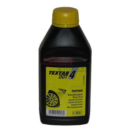 Fékfolyadék 0,5 liter DOT4 Textar