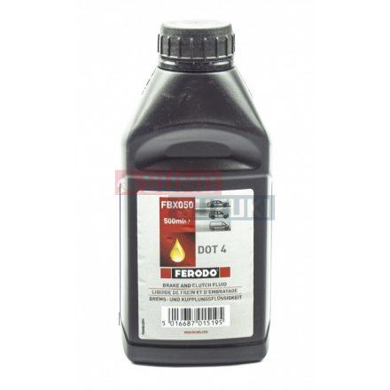 Fékfolyadék 0,5 liter DOT4 Ferodo