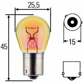 Suzuki Alto első index villogó izzó 21W sárga 09471-12186