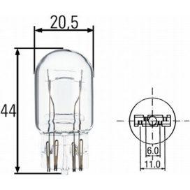 Suzuki izzó 21/5W üveg foglalattal