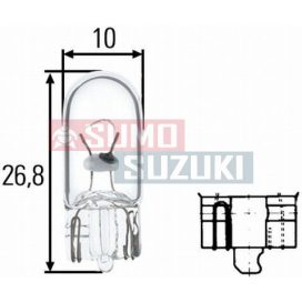Suzuki izzó 5W fehér, üveg foglalat