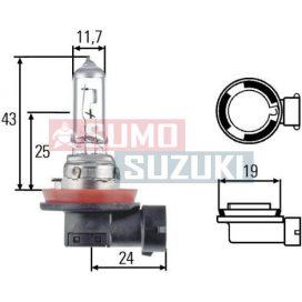 Suzuki Splash ködlámpa izzó H11 55W 09471-12210