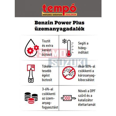 Tempó Benzin Power Plus adalék 120ml