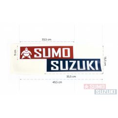 "Matrica ""Sumo Suzuki"" logóval Nagy"