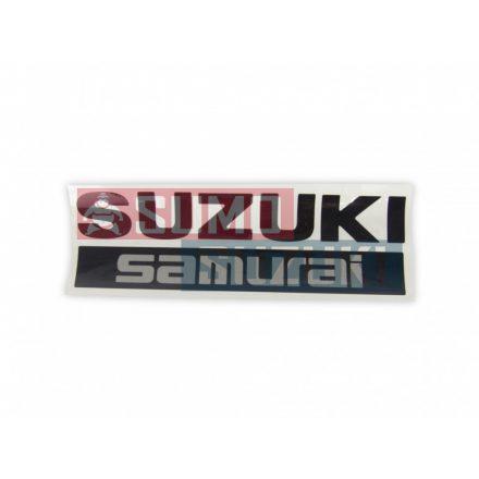 Suzuki Samurai Matrica Fekete 77815-50CA0-5PK