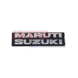 Maruti felirat embléma hátsó csomagtér ajtóra (Maruti Suzuki) 86831-78120