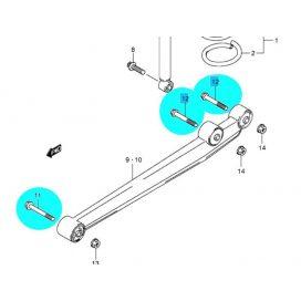 Suzuki hátsó lengőkar csavar Ignis, Wagon R, Alto 09103-12044