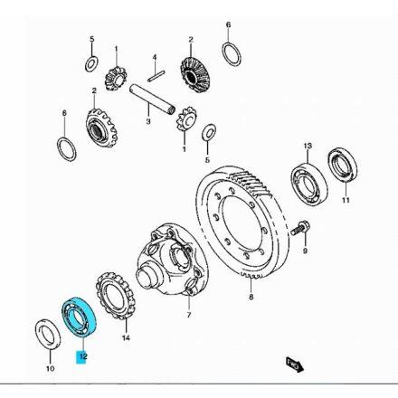 Suzuki  differenciálmű csapágy, jobb  09262-35070, 08113-60070