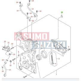 Suzuki O gyűrő az olajpumpában