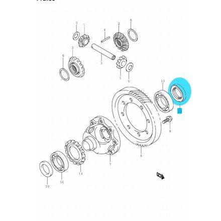 Suzuki féltengely szimering bal diffi szimering bal 09283-35037