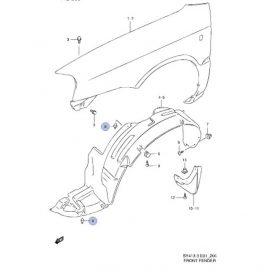 Suzuki patent (sötét szürke) általános