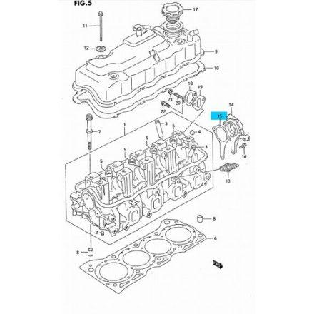 Suzuki Swift 1,3 8V gyújtás elosztó ház tömítés 11169-82010