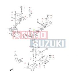 Suzuki Liana motortartó gumibak hátsó 1,3b benzines,  1,4 diesel suzuki gyári eredeti alkatrész 11921-79J01