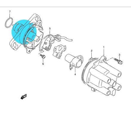 Suzuki csapágy az osztófejben S-12623-70B00-SS