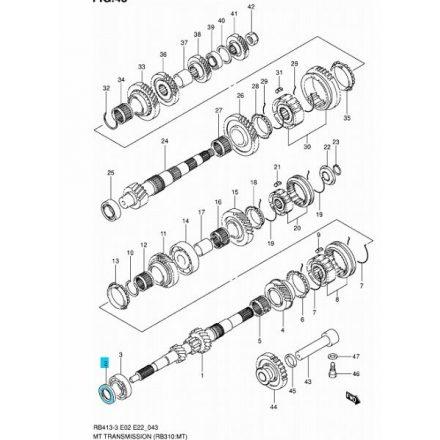 Suzuki Swift, Ignis, WR+ 1,3 és Alto, Splash nyelestengely szimmering - 24151-60BD1