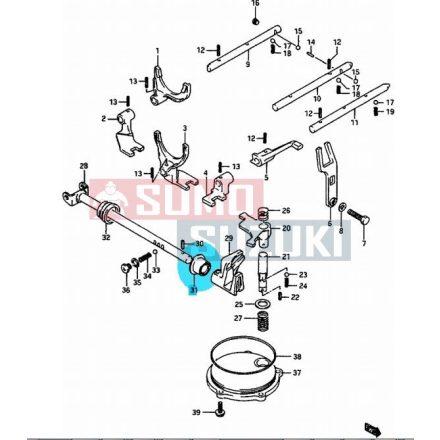 Suzuki Swift sebességváltó működtető tengely szimmering S-25517-60B01-SSE