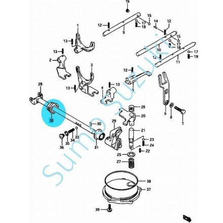 Suzuki Swift sebességváltó működtető tengely gumiharang 25595-82000-SSE