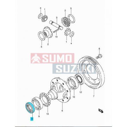 Suzuki Swift féltengely szimering jobb (diffi jobb) Maruti/Suzuki (indiai) 27431-73B20-SE