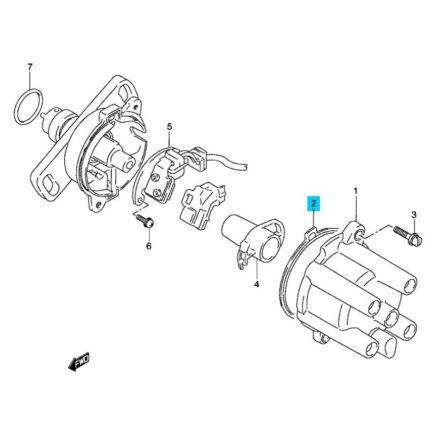 Suzuki osztófedél alatti tömítés GYÁRI  S-33324-86510-E