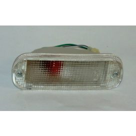 Suzuki Swift 1990-96 fehér index irányjelző lámpa, bal, lökhárítóba 35602-60B11