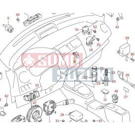 Suzuki Swift 2005-> elakadásjelző kapcsoló Gyári 37430-62J00-P4Z-E