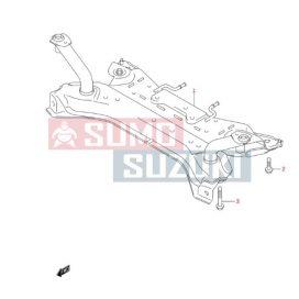 Suzuki Swift 2005-> Bölcső Esztergomi gyári termék 45810-62J10
