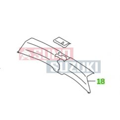 Suzuki S-Cross hátfal/csomagtér műanyag borítás  76191-64R00-5PK