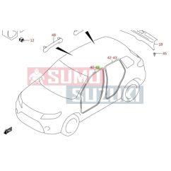 Suzuki Vitara ajtókeret tömítőgumi bal eslő 76292-54P00-E