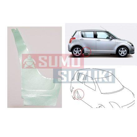 Suzuki Swift 2005-> 5 ajtós kőfelverődés gátló, küszöb védő matrica / fólia átlátszó! jobb 77131-63J00