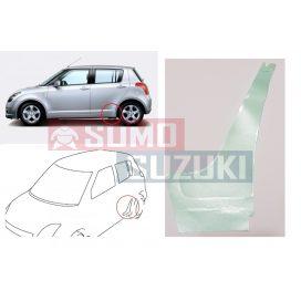 Suzuki Swift 2005-> 5 ajtós kőfelverődés gátló, küszöb védő matrica / fólia átlátszó! bal 77132-63J00