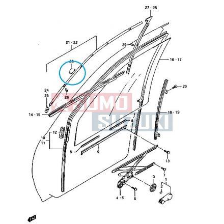 Suzuki Swift 1990-2003 légterelö kapocs patent ablakra - utángyártott 83681-60B01