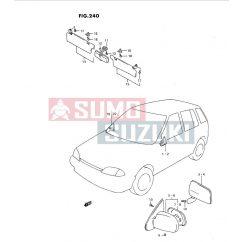 Suzuki Swift ->1996 napellenző tartó S-84851-60B00-4BC-SE