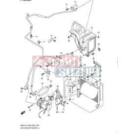 Suzuki WagonR+ 1,0 klíma szíj 95141-60B50