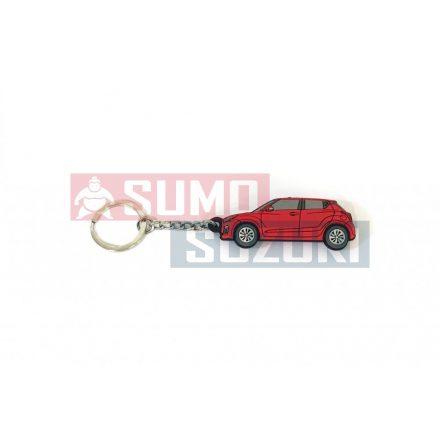 Suzuki Swift gumi kulcstartó