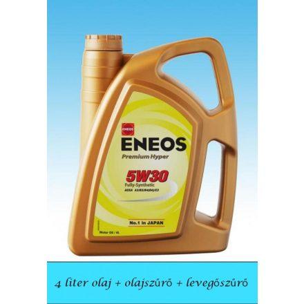 Suzuki Ignis Diesel 5W30 Eneos Premium Hyper olajcsere szett