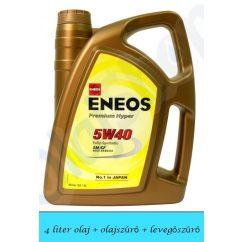 Suzuki Ignis Diesel 5W40 Eneos Premium Hyper olajcsere szett