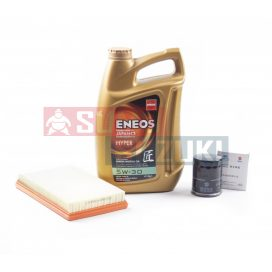 Suzuki Ignis benzines + Wagon R 1,3 VVT motorral 5W30 Eneos olajcsere szett olaj+olajszűrő+levegőszűrő