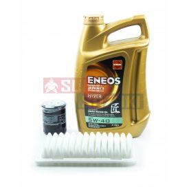 Suzuki Splash benzines 5W40 Eneos Hyper olajcsere szett